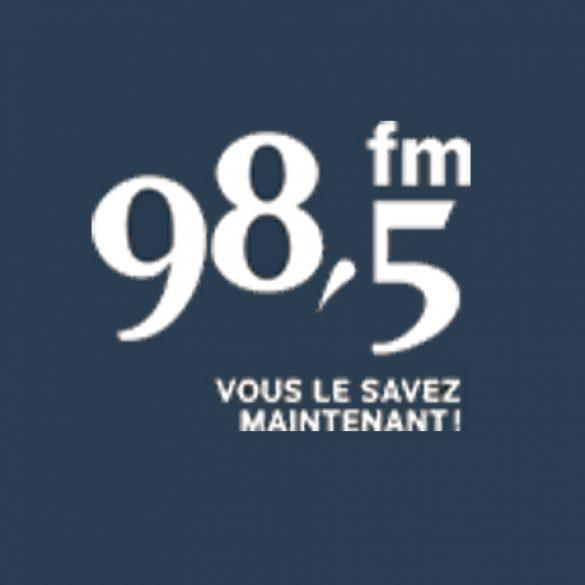 Entrevues sur 98.5FM